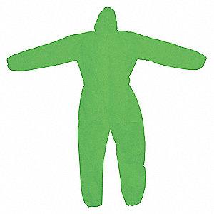 LABCOAT PP NONWOVEN GREEN XL