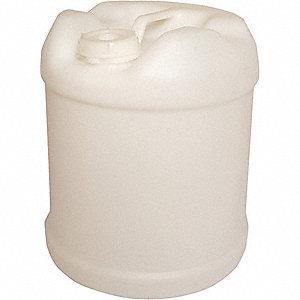 PLASTIC PAIL,ROUND,NATURAL,CAP 5 GA