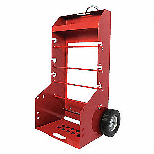 WIRE SPOOL CART,PORTABLE,H 51-1/4 I