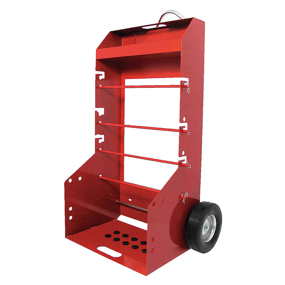 DAYTON WIRE SPOOL CART,PORTABLE,H 51-1/4 I - Conduit, Wire, Cable ...