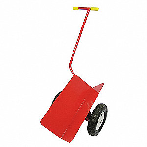 V-SHAPED HAND TRUCK,CAP 1000 LB