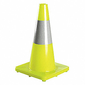 REFLECTIVE,CONE,TRAFFIC,LIME,1