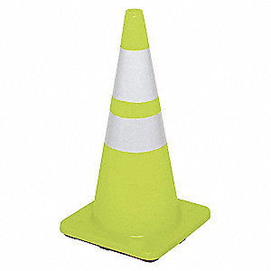 REFLECTIVE,CONE,TRAFFIC,LIME,2