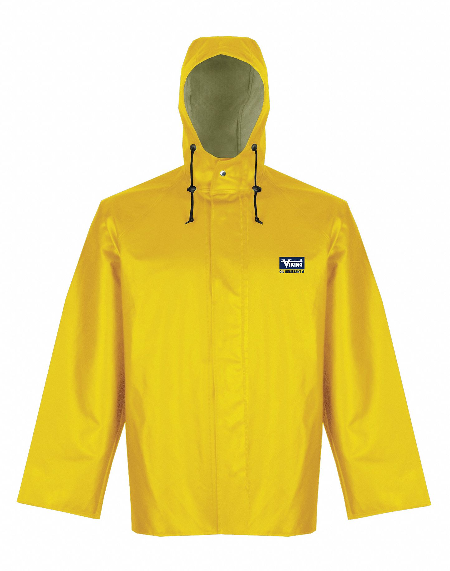 newest collection new season big selection Hooded Rain Jacket, Yellow, 37 Chest, Men, S