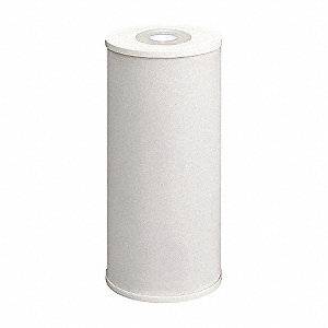 "25 Micron Rating Filter Cartridge, 4-1/2"" Diameter, 9-3/4"" Height, 3.00 gpm"
