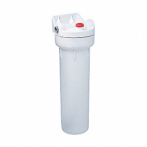 "3/8"" NPT Polypropylene Water Filter System, 1 gpm, 125 psi"