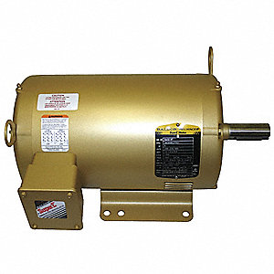3/4 HP General Purpose Motor,3-Phase,3450 Nameplate RPM,Voltage 208-230/460,Frame 184TC