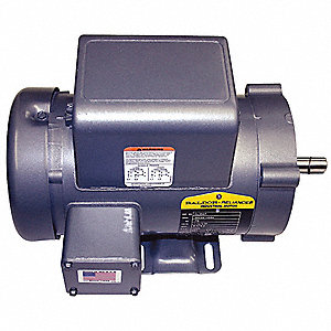 1 HP General Purpose Motor,Capacitor-Start,3450 Nameplate RPM,Voltage 115/208-230,Frame 56H