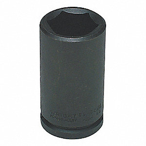 Impact Socket,3/4 In Dr,35mm,6 pt