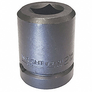 "1"" Metric Black Oxide Budd Wheel Impact Socket, Number of Pieces: 1"