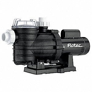 1-1/2 HP In-Ground Swimming Pool Pump, 2-Speed, 7.6 Amps