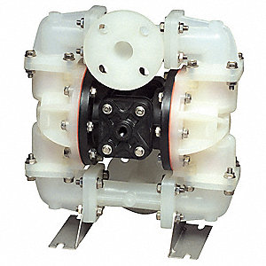 Diaphragm Pump,Air Operated,PVDF,100 psi