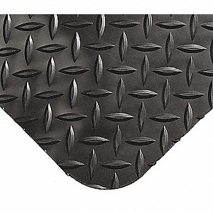Antifatigue Mat,Black,4ft. x 10ft.