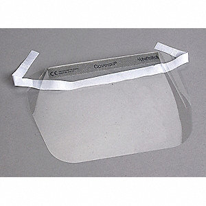 Disposable Faceshield Assembly,Clr,PK100
