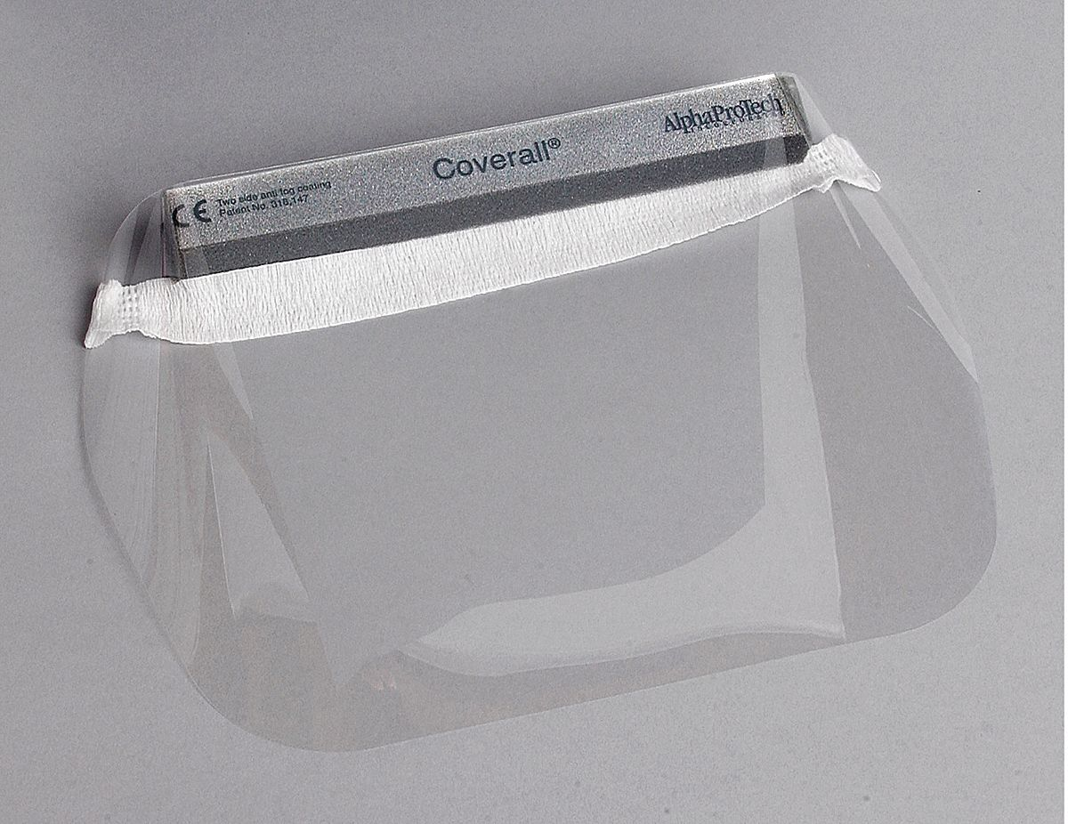 Disposable,  Disposable Faceshield Assembly,  PK 100