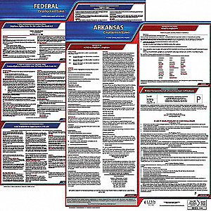 Labor Law Poster Kit,AR,English,19 In. W