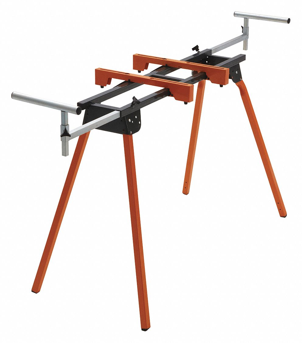 Portable Folding Miter Saw Stand,  116 in,  For Use With All Miter Saws