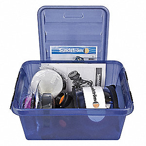 Respirator Kit,Fixed,Universal