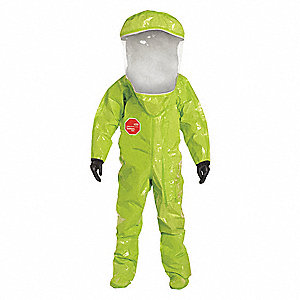 Encapsulated Training Suit,Lvl A,Front,L