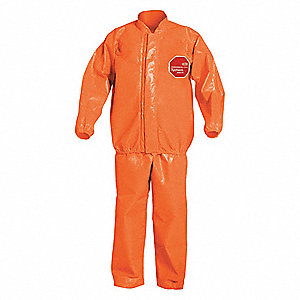 Bib Overall and Jacket, Orange