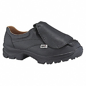 SAFETY SHOE BLACK - 3E-8.5