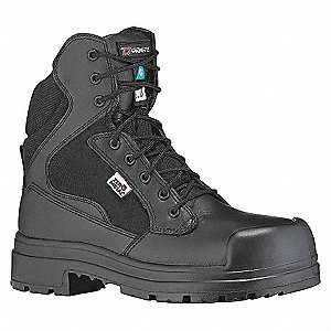 SAFETY BOOT 6IN BLACK -3E-9