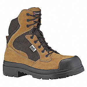 SAFETY BOOT 6IN KHAKI ZER-3E-7.5