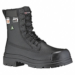 SAFETY BOOT 8IN ZERO MET-3E-12