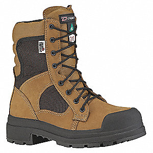 SAFETY BOOT 8IN KHAKI DRY-3E-6