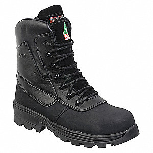 SAFETY BOOT 8IN BLACK 5-13-3E-5