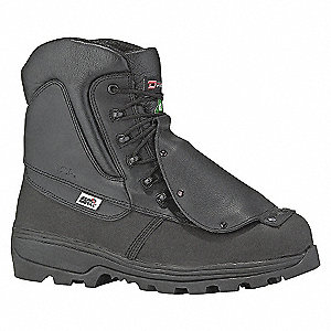 SAFETY BOOT 8IN BLK 5-13-3E- 10.5