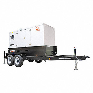 Towable Standby Genratr,179.6kW,260 gal.