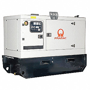 Towable Standby Generator,36.7kW,95 gal.