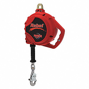 20 ft. Self-Retracting Lifeline with 420 lb. Weight Capacity, Red