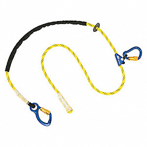 Positioning Lanyard,8 ft.,310 lb.