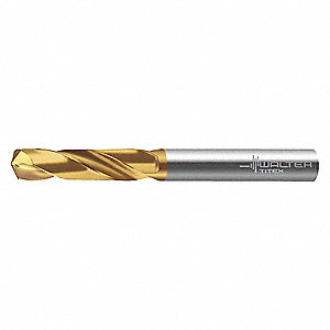 Jobber Drill Bit, 9.10mm, Solid Carbide