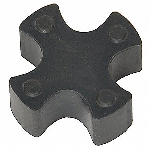 L050 Buna N Jaw Coupling Insert, Rated Torque: 26 in.-lb., Max. RPM: 18,000