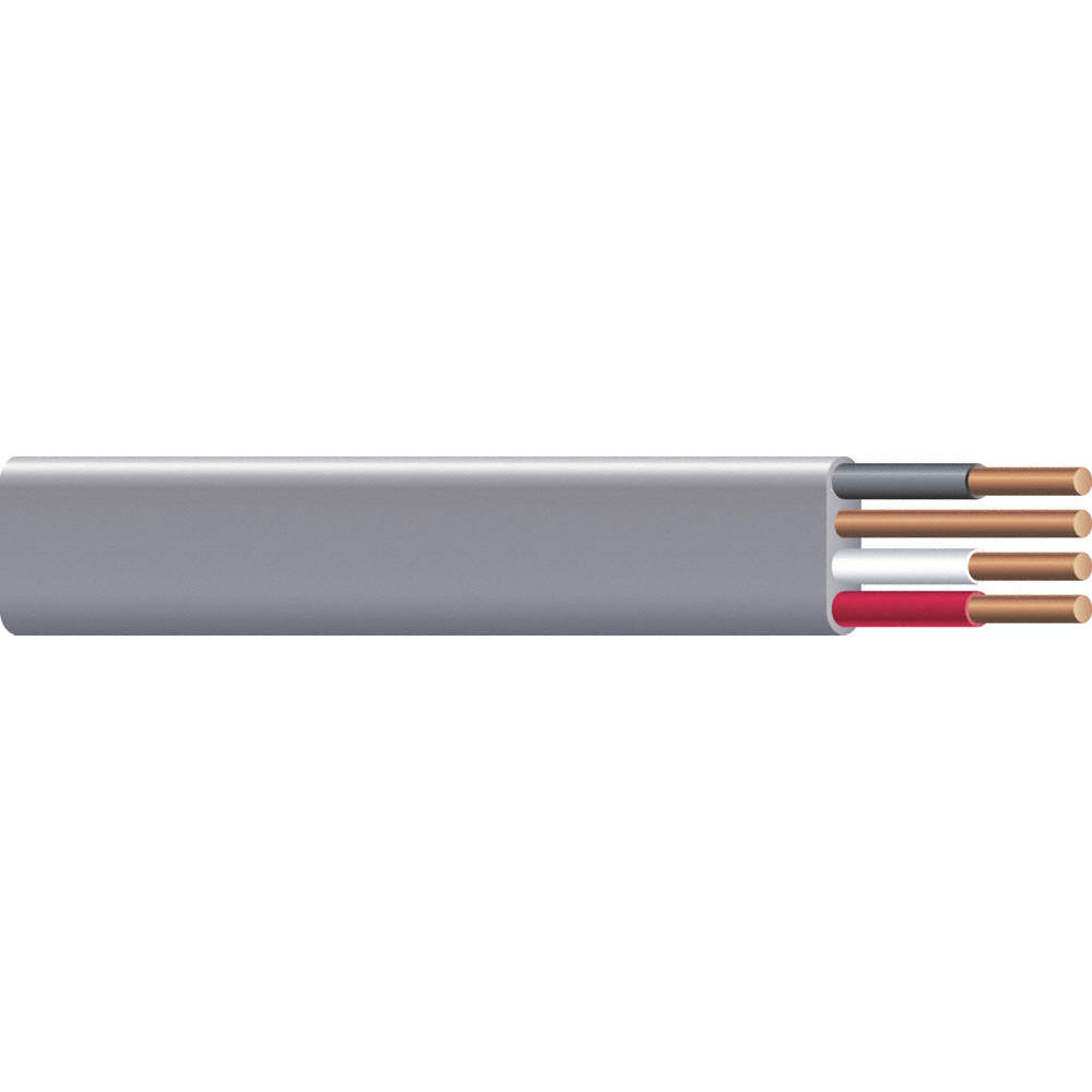 ROMEX 25 ft. Solid Nonmetallic Building Cable; Conductors: 3 with ...