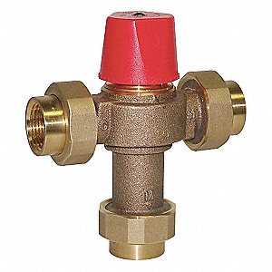 Thermostatic Mixing Valve,1 in.