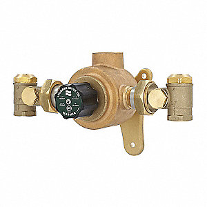 "1"" NPT Inlet Type Mixing Valve, Lead Free bronze, 1 to 58 gpm"