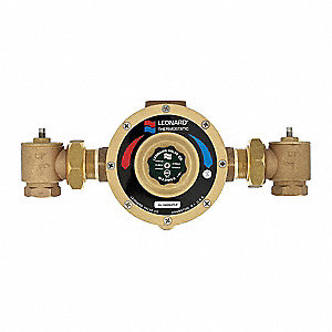 "1-1/4"" NPT Inlet Type Mixing Valve, Lead Free bronze, 6 to 141 gpm"