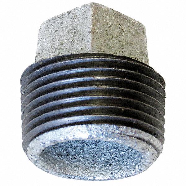 Anvil galvanized malleable iron plug quot pipe size mnpt