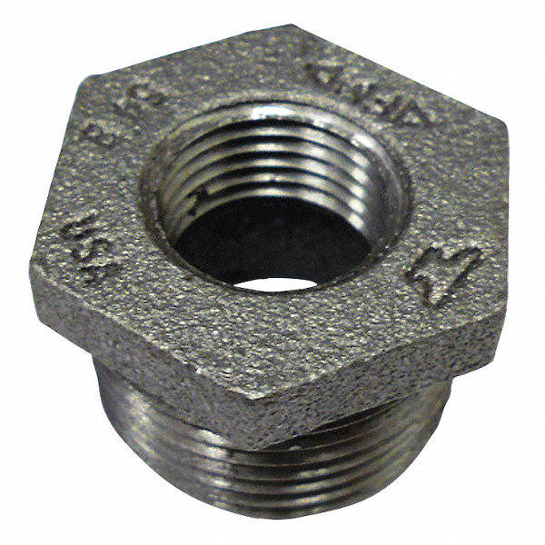 Anvil galvanized malleable iron hex bushing quot
