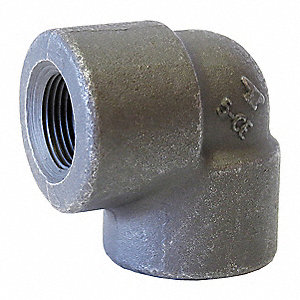 "Elbow, 90°, FNPT, 3/8"" Pipe Size - Pipe Fitting"