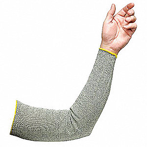 Cut Resistant Sleeve,Cut 3,HPPE/SS,10""