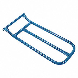 "Hand Truck Nose Plate,Steel,12""x22"""