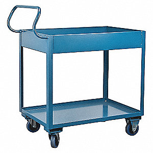 "Welded Utility Cart,1200 lbs,42""x24""x47"""