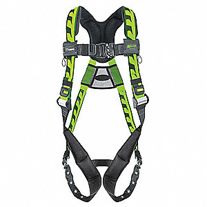 AirCore™ Full Body Harness with 400 lb. Weight Capacity, Green, L/XL