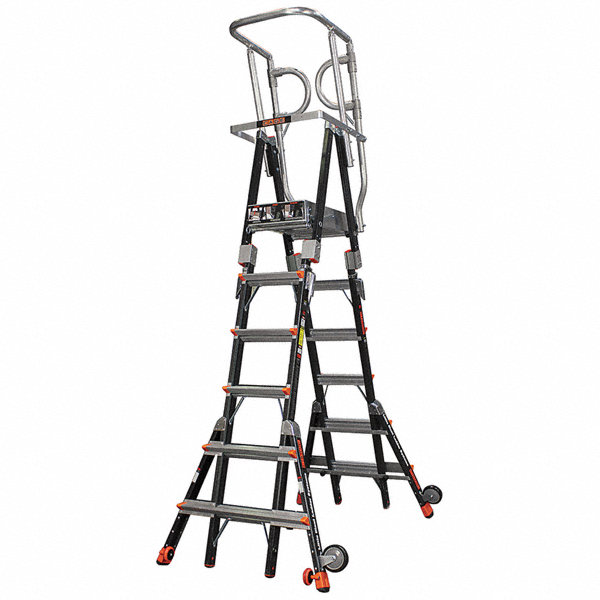 Little Giant Fiberglass 6 Ft 1 Quot To 10 Ft 1 Quot Ladder