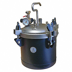 10L STAINLESS PAINT PRESSURE TANK